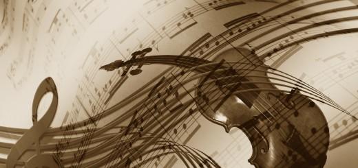 Parition et violon