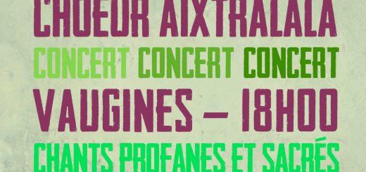 Concert Vaugines
